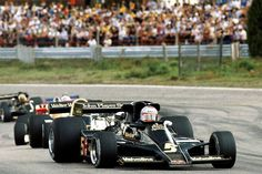 Mario Andretti (USA), Lotus 78 Anderstorp, 1977. Indy Car Racing, Sports Car Racing, Indy Cars, Road Racing, Race Cars, F1 Motorsport, Lotus F1, Mario Andretti, American Racing