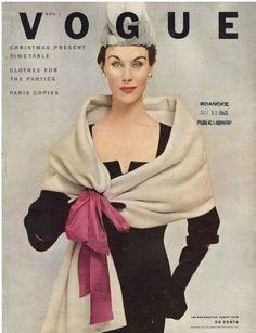November Vogue 1952 By Frances Mclaughlin Gill