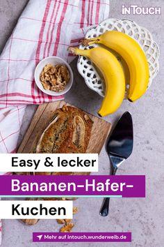 Easy und soooo lecker: Der Bananen-Hafer-Kuchen von Monica Meier-Ivancan.#stars #promis #vips #rezepte #bananenhaferkuchen #intouch Meier, Snacks, French Toast, Breakfast, Easy, Food, Souffle Dish, Sprinkles, Vegan Apple Cake