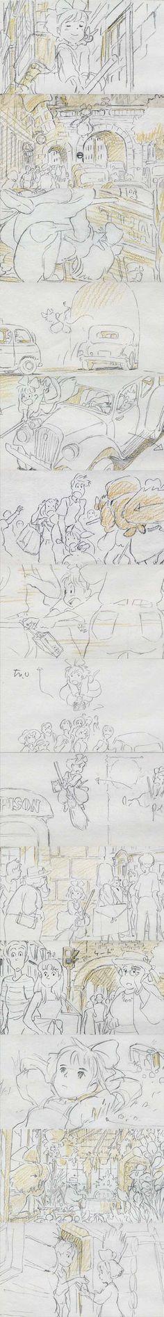 アニメ監督・幾原邦彦が描いた絵コンテやべええええっっwwwww - まめ速