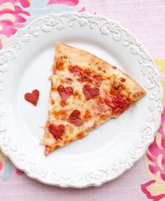 Love these heart-shaped pepperonis!