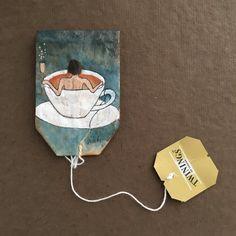Artista faz desenhos incríveis em saquinhos de chá! http://agregamais.net/index.php/2016/04/26/363daysoftea/