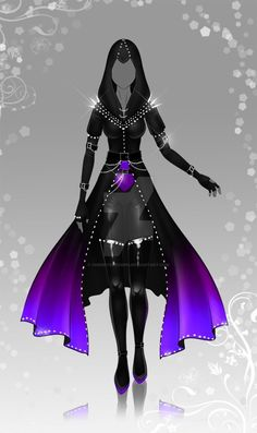 (closed) Auction Adopt - Outfit 368 by CherrysDesigns on DeviantArt Drawing Anime Clothes, Dress Drawing, Clothing Sketches, Dress Sketches, Fashion Design Drawings, Fashion Sketches, Vestidos Anime, Anime Outfits, Cool Outfits