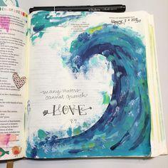 Bible Journaling by @luckowfam