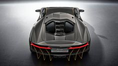 The Centenario takes Lamborghini's V12 engine as its powerplant, perfectly matching the dynamic potential of the car.  The highly responsive engine, even at low revs, provides the unmistakeable resonance and characteristics that only a naturally aspirated engine can.