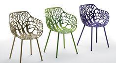 Merk: MaxDesign - Design: Hannes Wettstein Forest armstoel