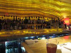 The bar at Marea