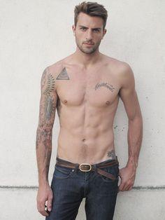 #inked #ink #tattoos #tattoo #inkedguy #malemodel
