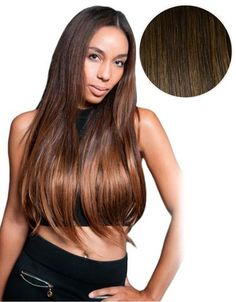 Chocolate brown 4 20 160g hair extensions extensions and balayage 160g 20 ombre hair extensions 1c mochachino brown 4 chocolate brown pmusecretfo Image collections
