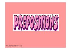 Home parts & Prepositions