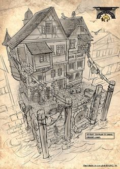 風水朱デザイン:RPGゲームカッタウェイ