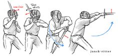 Unterhau from the shoulderIntended for beginners or people who don't do HEMA and just want information: a quick illustration of driving an Unterhau (cut from below upwards) from Vom Tag (at the shoulder) Basic cutting is not detailed in the...