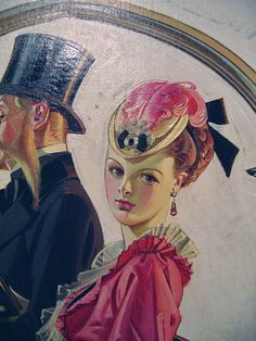bikerblue:    The Art of J.C. Leyendecker.    Is this a photograph of an original painting?