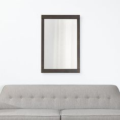 Colby Bronze Wall Mirror | Crate and Barrel