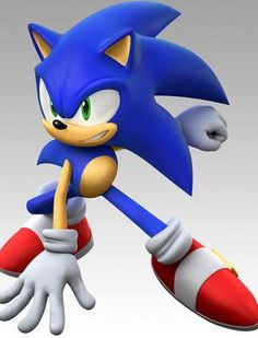 Sonic the Hedgehog; he's not quite Mario, but deserves his spot as a timeless mascot.