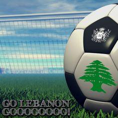#Lebanon #Beirut #Jounieh  Qatar VS Lebanon, Doha, 4:45 pm: Time to dream!!!  Margherita supports Lebanese Football Team