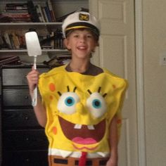 Pin for Later: These Are the Most Popular Kid Costumes of the Last 26 Years 2004 SpongeBob SquarePants