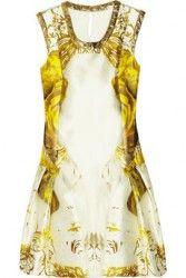 PRABAL GURUNG Printed Silk & cotton blend Sateen dress $2350  http://hollyrotic.mybigcommerce.com/prabal-gurung-printed-silk-cotton-blend-sateen-dress-2350/