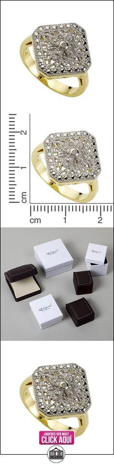 Diamonds by Ellen K. 358270383V-017 - Anillo de mujer de plata de ley con 1 diamante (talla: 13)  ✿ Joyas para mujer - Las mejores ofertas ✿ ▬► Ver oferta: https://comprar.io/goto/B005DDOBPE