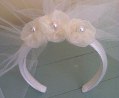 First Communion Veil with Headband