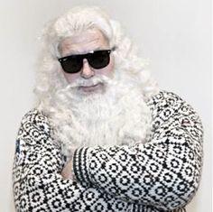 Julenissen Undercover for å se om barn er snille.