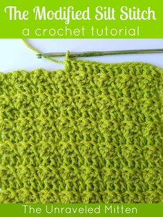 The crochet slit stitch is an easy stitch with my own added twist to emphasize the subtle texture. Perfect for baby blankets, afghans, scarves and more!