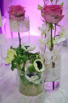 Aranjamente florale la Targul Ghid Mariaj