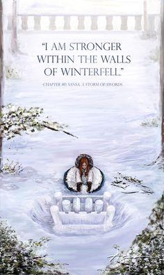 Sansa builds the snow castle. HBO better make this scene BEAUITFUL!