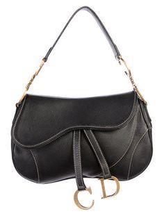 be10675405f1 Christian Dior Saddle Bag