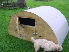 Mini goat house. Lockable front stable door. Love!