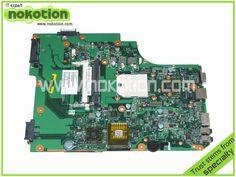 PN 1310A2250808 SPS V000185540 Laptop motherboard for TOSHIBA SATELLITE L505D HD4200 DDR2 Mainboard warranty 60 days #Affiliate