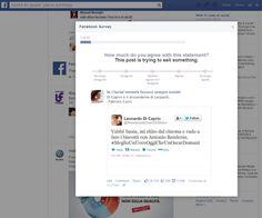 Facebook vuole capire quali post stanno cercando di vendere qualcosa. Con un sondaggio.