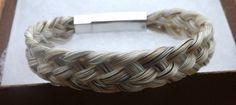 White Basket Weave Horse Hair Bracelet Various Colors Available   eBay
