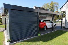 Ganz egal ob Ihr Grundstück unterschiedliche Höhen aufweist, oder vorne schmaler als hinten ist, dieses Carport System passt sich Ihren Gegebenheiten an! Das Design ist modern gehalten und passt sich jeder Situation an. Selbstverständlich stehen wir Ihnen dazu auch mit Informationen und Planungsunterlagen zu Ihrem Projekt zur Verfügung. Lassen Sie sich von uns beraten: 04224 - 2270175 Carport Modern, Carports, Garage Doors, Outdoor Decor, Design, Home Decor, Don't Care, Lawn And Garden, Decoration Home