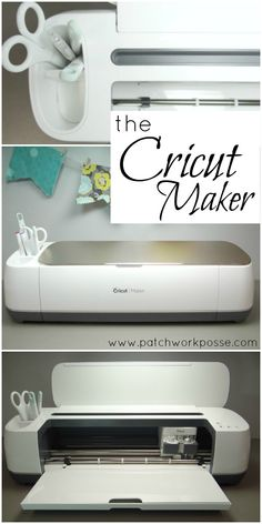 Introducing the Cricut Maker - this machine is so fun! Can't wait to try it out and do some new projects. Love the rotary blade option!!!