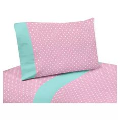 Shop for Sweet Jojo Designs Skylar Collection Bed Sheet Set. Get free delivery On EVERYTHING* Overstock - Your Online Bedding Basics Store! Queen Bed Sheets, Twin Bed Sheets, Twin Sheet Sets, Cotton Sheet Sets, Pink Twin Bed, Turquoise Blue Color, Pink Blue, Pink White, Turquoise Accents
