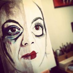 #DollSamantha #dolls #doll #Tuscany #Painting #portrait #etsyseller #artist #art #atelier #workinprogress Monica Spicciani #Painter #Painting in #Tuscany #Italy #art #fineart #artist #studio #contemporaryart #portrait #italianpainter