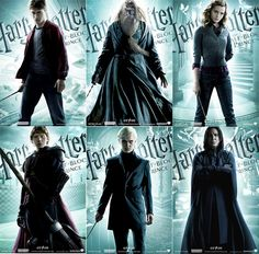 Harry Potter and the half-Blood Prince movie posters