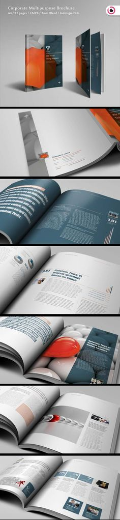 A report cover from We Made Things Happen. Source: http://www.behance.net/gallery/We-made-thing-happen/4044527