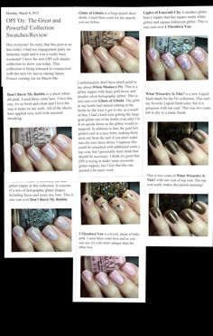 OPI: Oz- the great and powerful collection 2013