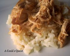 A Cook's Quest: Kansas City Sue's Slow Cooker Chicken