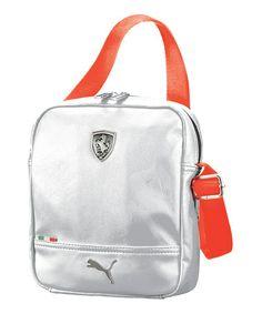 PUMA White Ferrari LS Portable Crossbody Bag d91fad612bf23