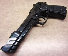 Beretta 92FS with Compensator//Leon: The Professional Find our speedloader now! http://www.amazon.com/shops/raeind