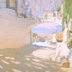 At the Seaside by Russian Artist Bato Dugarzhapov