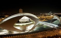 The City of Arts and Sciences in Valencia  Photo: Getty Images