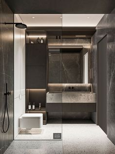 Best Interior, Modern Interior Design, Interior Ideas, Design Room, House Design, Ideas Baños, Decor Ideas, Bathroom Design Luxury, Luxury Bathrooms