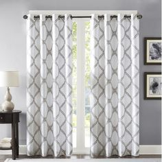 "Bombay Single Curtain Panel Size: 50"" W x"