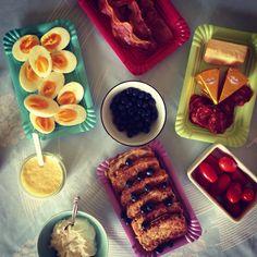 Beautiful breakfast #lchf