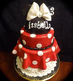 Vintage Minnie Mouse Third Birthday