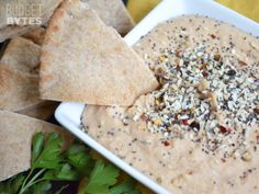 """Everything"" White Bean Dip - Budget Bytes"